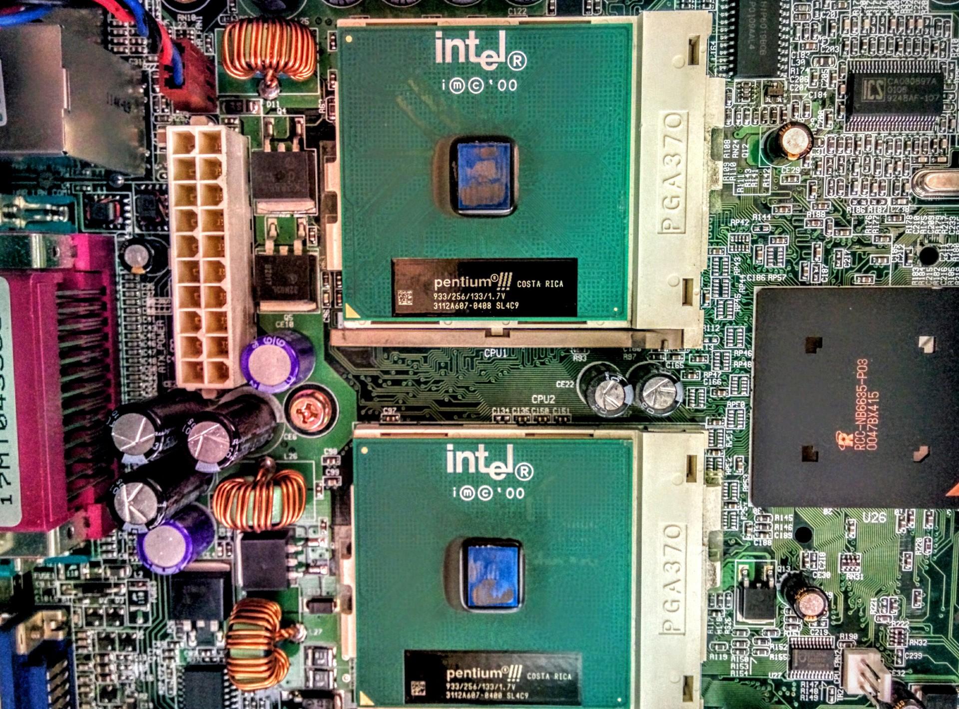 Dual Pentium III 733 Mhz Processors