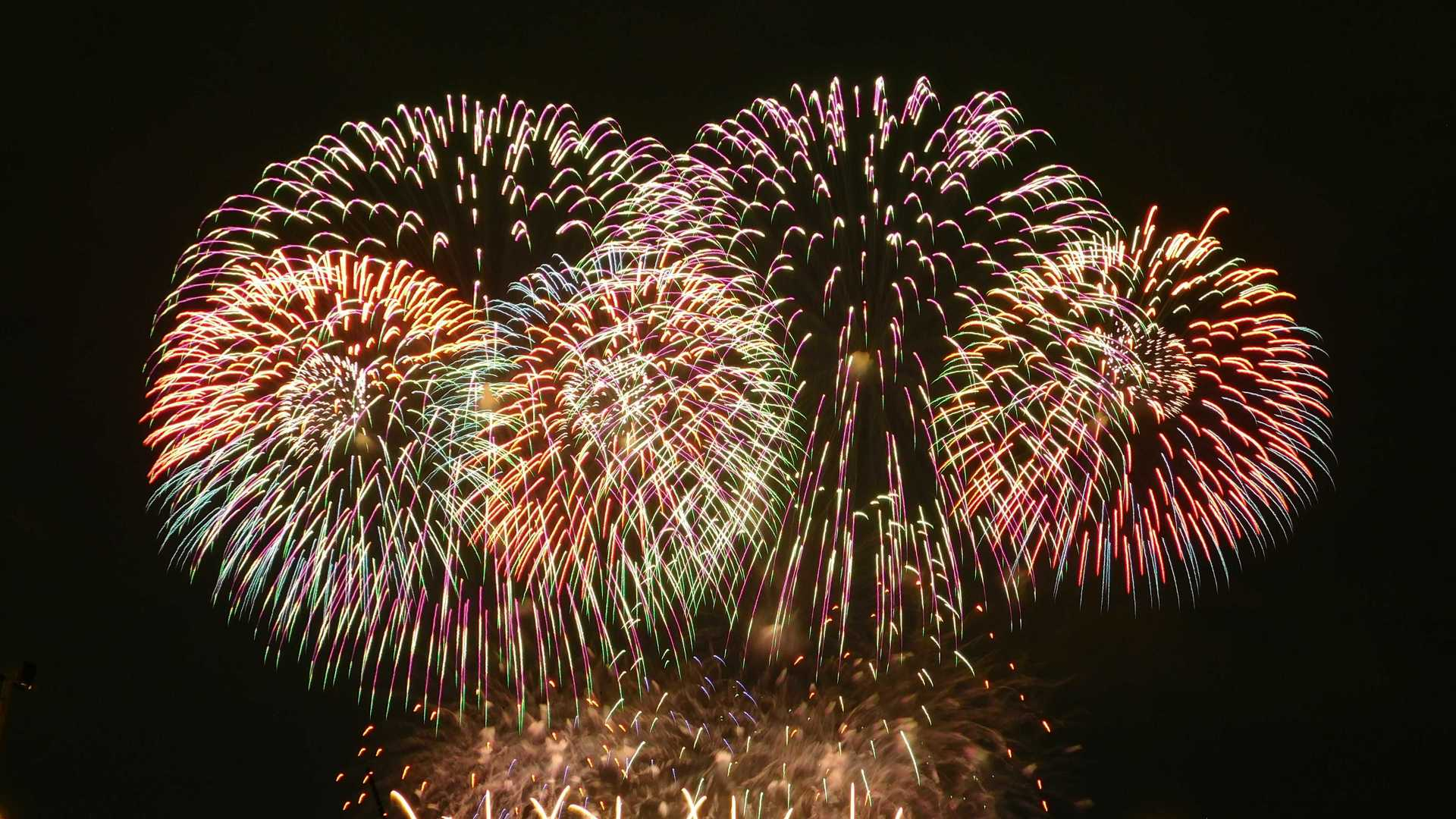Fireworks   rick.cognyl.fournier, color, festival, fireworks