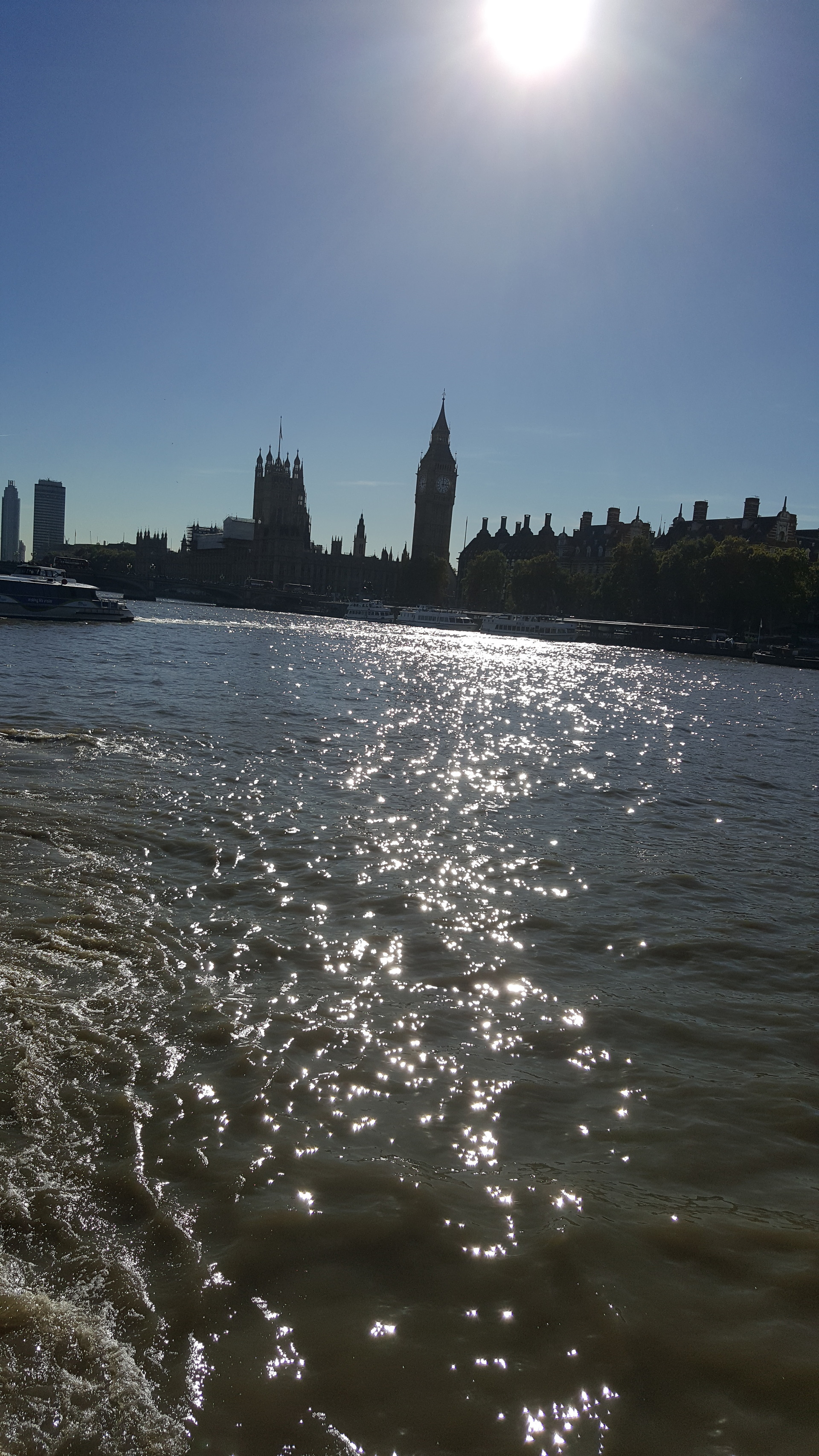 Parliament on the river Thames