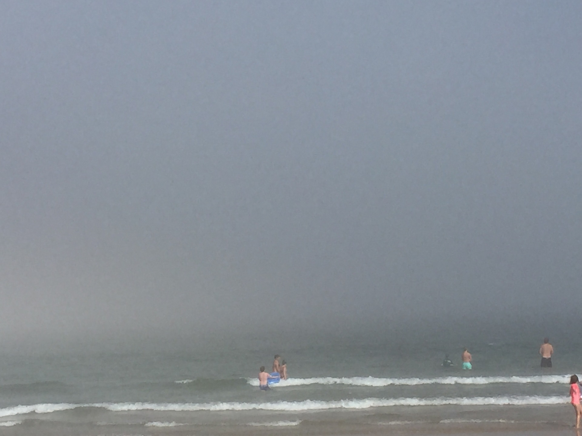 Foggy Nauset Beach | shernit, fog, water, sea