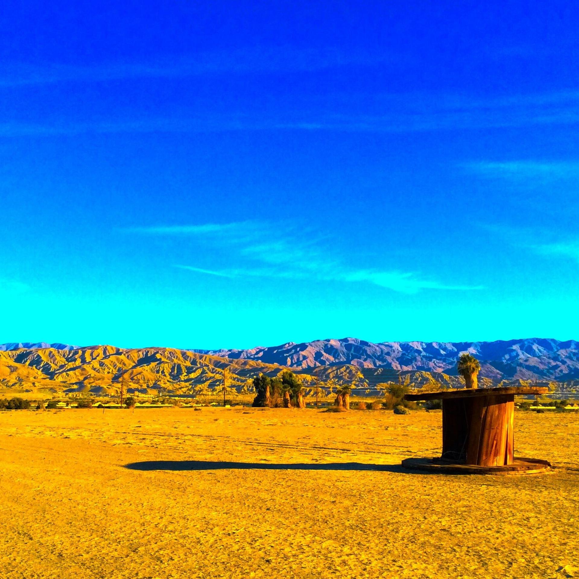 Desert scape Southetn California, Indio California.