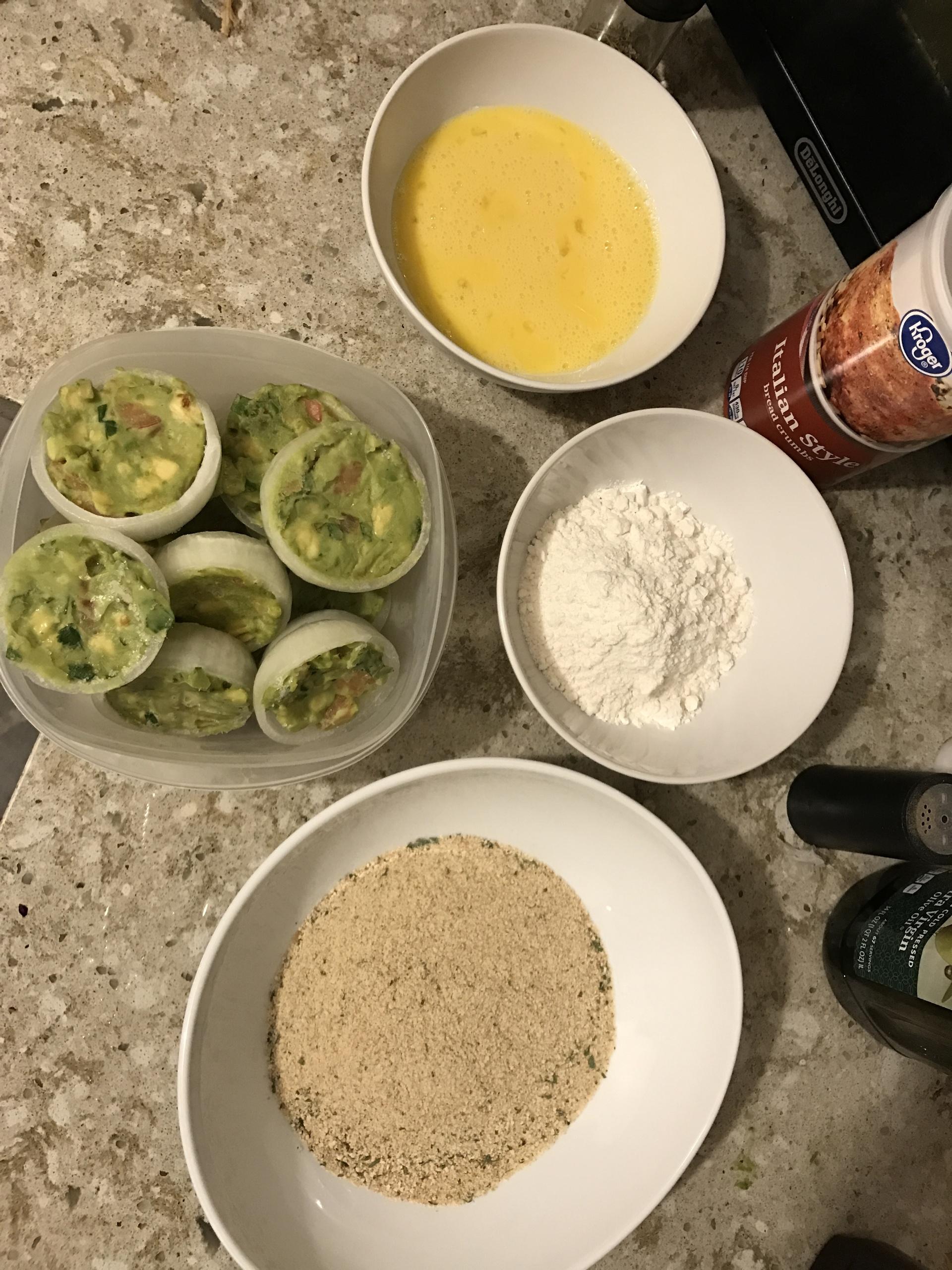 Making guacamole onion rings | brian.holt, bowl, food, nobody