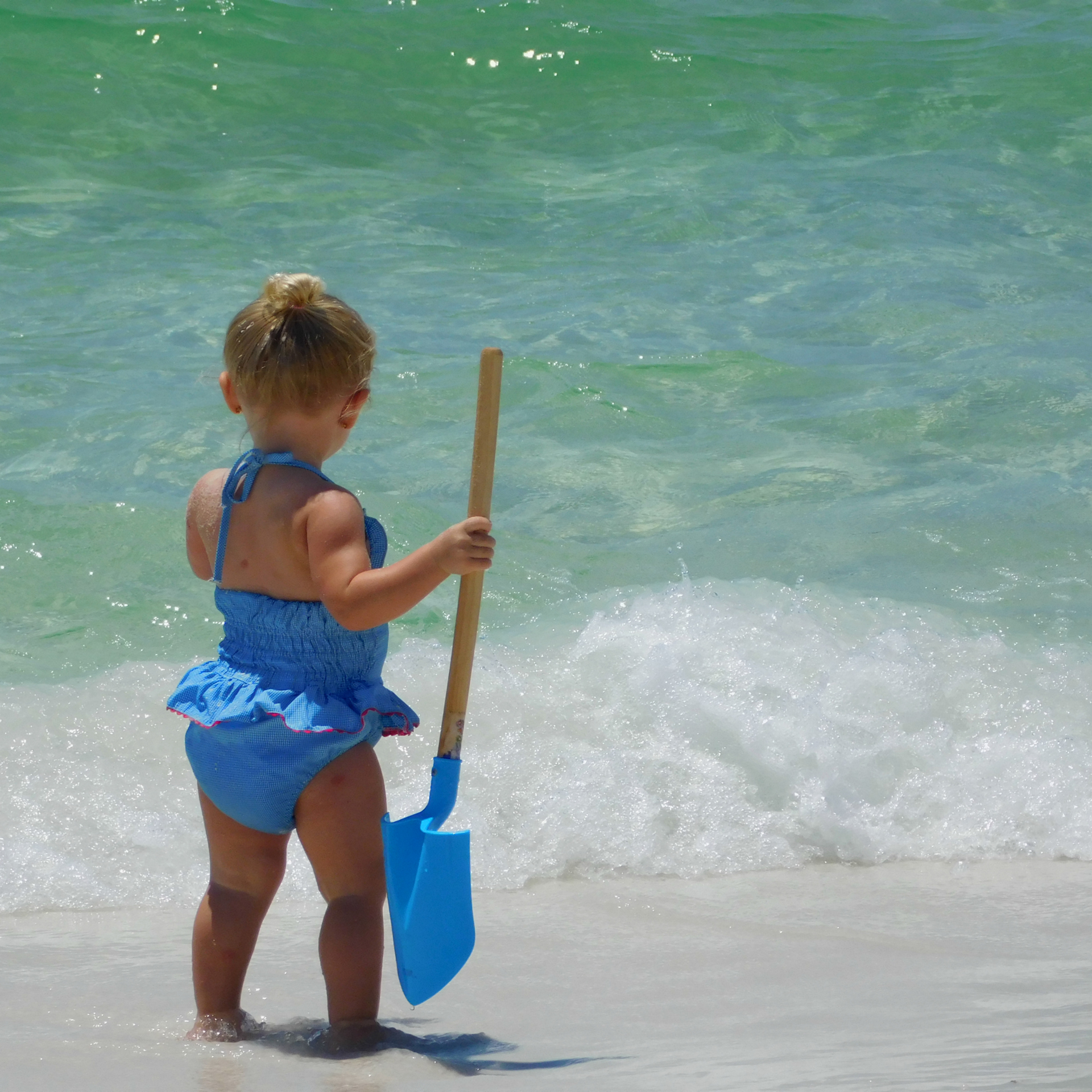 Early Summer Swimming! Beauty and the beach! Summer fun has begun in the Gulf of Mexico! Feel the sand between your toes!