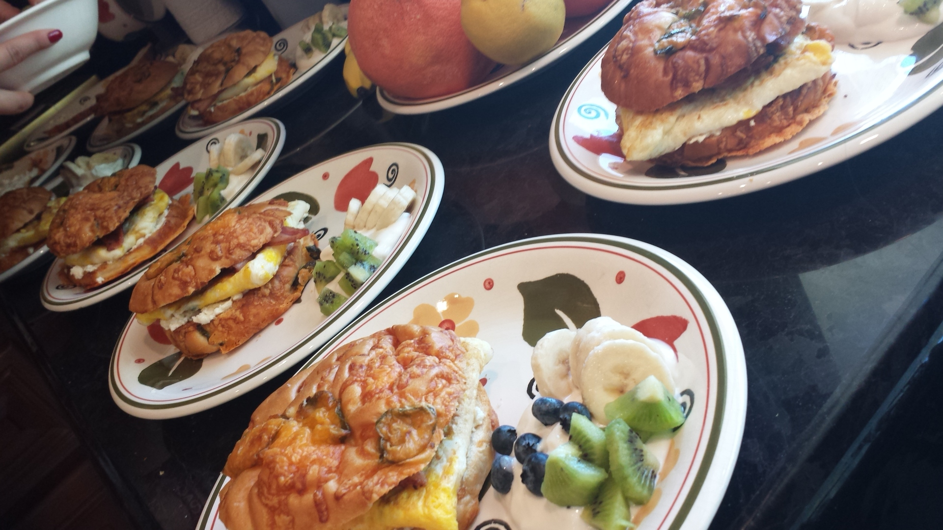breakfast plates are served. | brian.holt, cooking, delicious, health