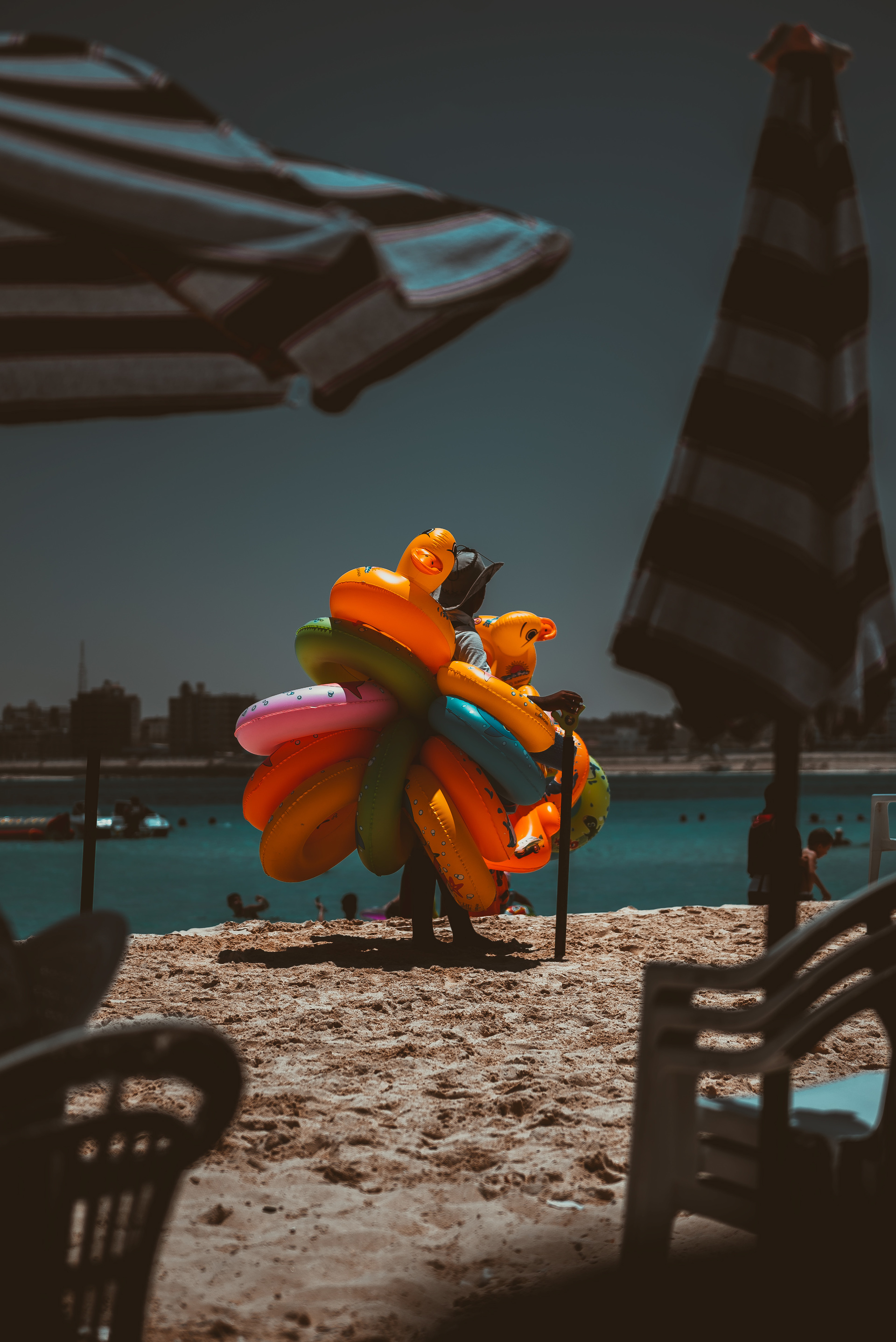 summary, summer, color, sea, sky
