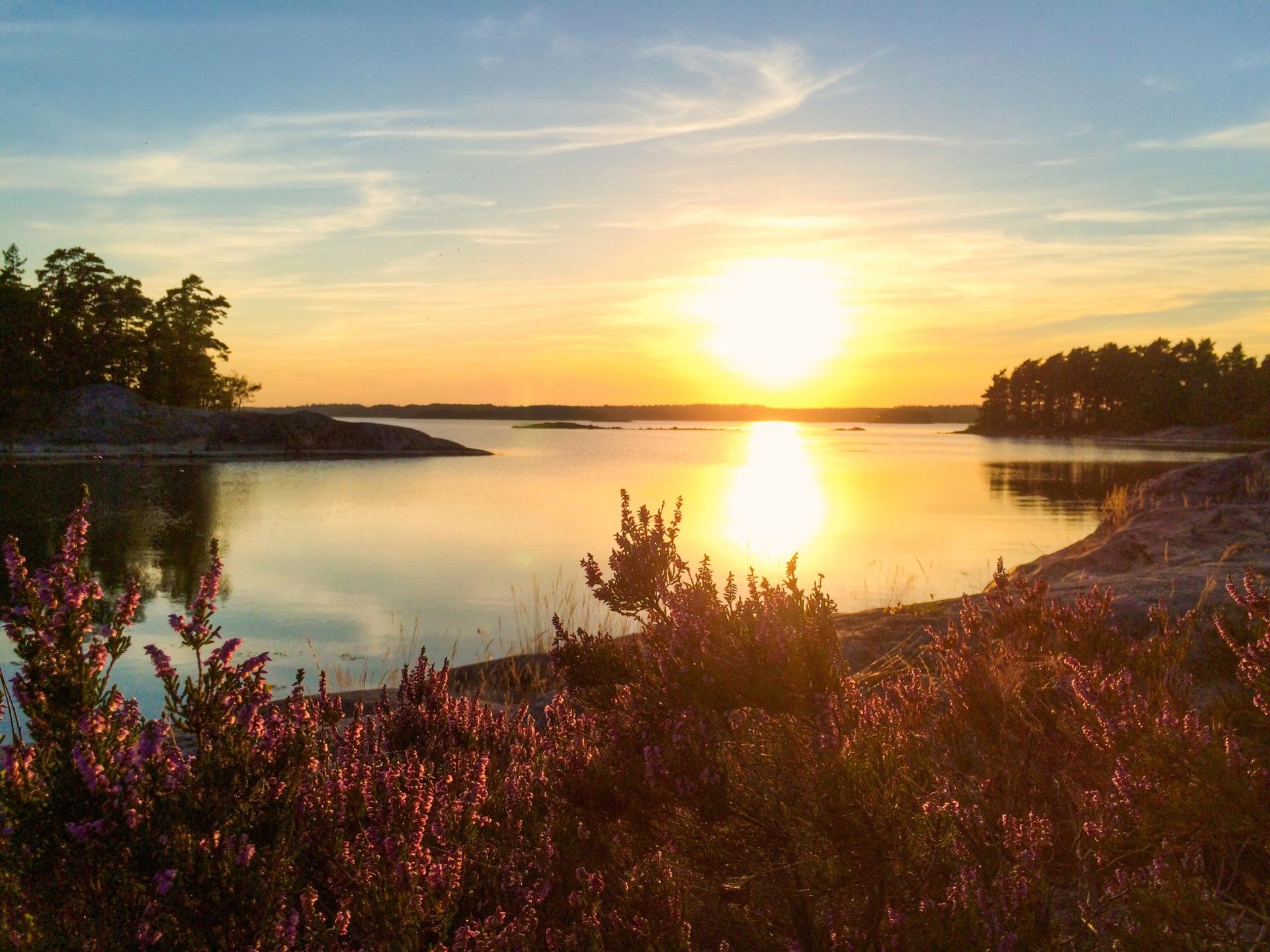 Beautiful sunset | akilles, dawn, evening, lake