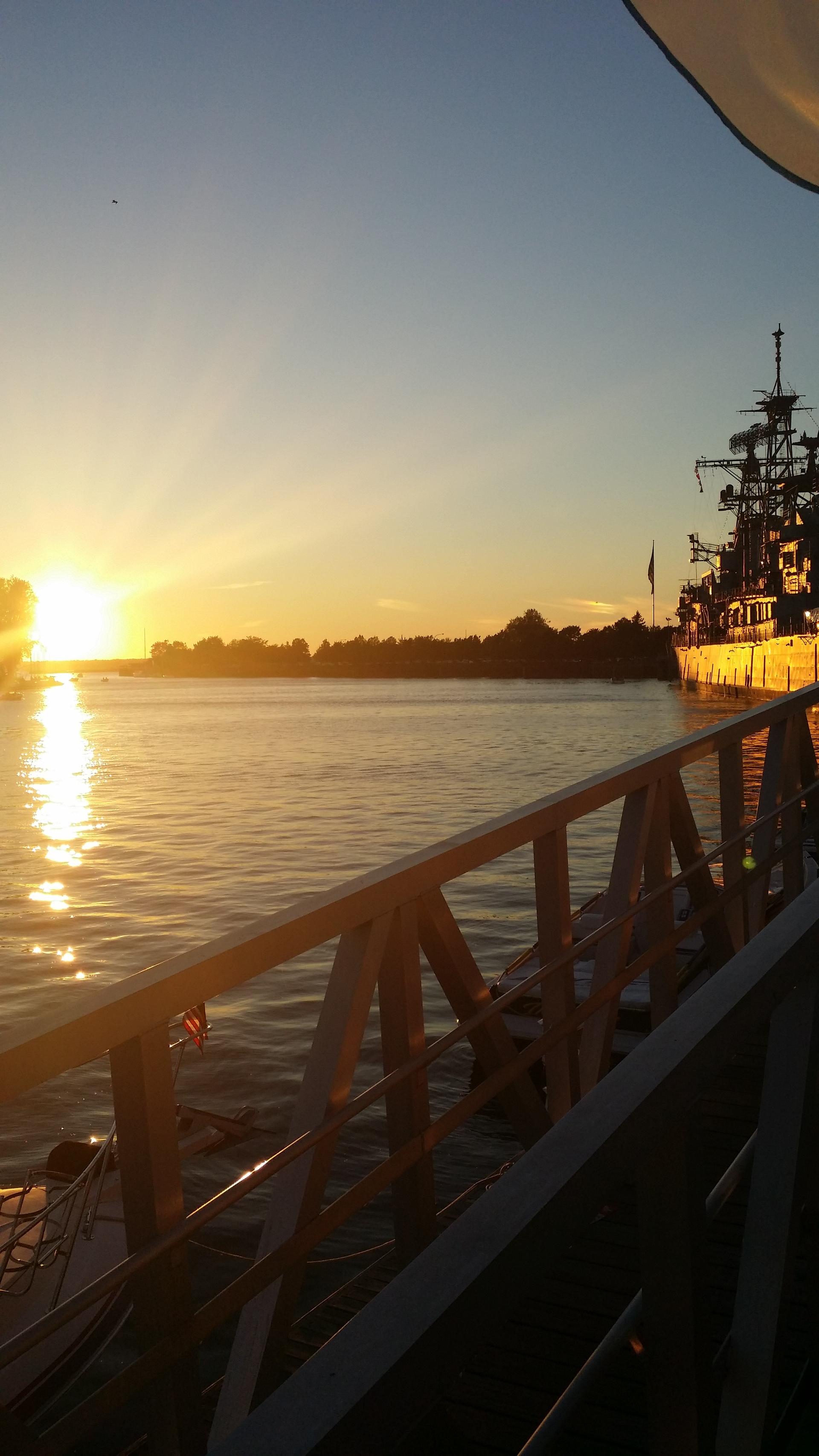 Buffalo NY   kerrik08, marina water lake erie, water navy ship, sunset navy flag