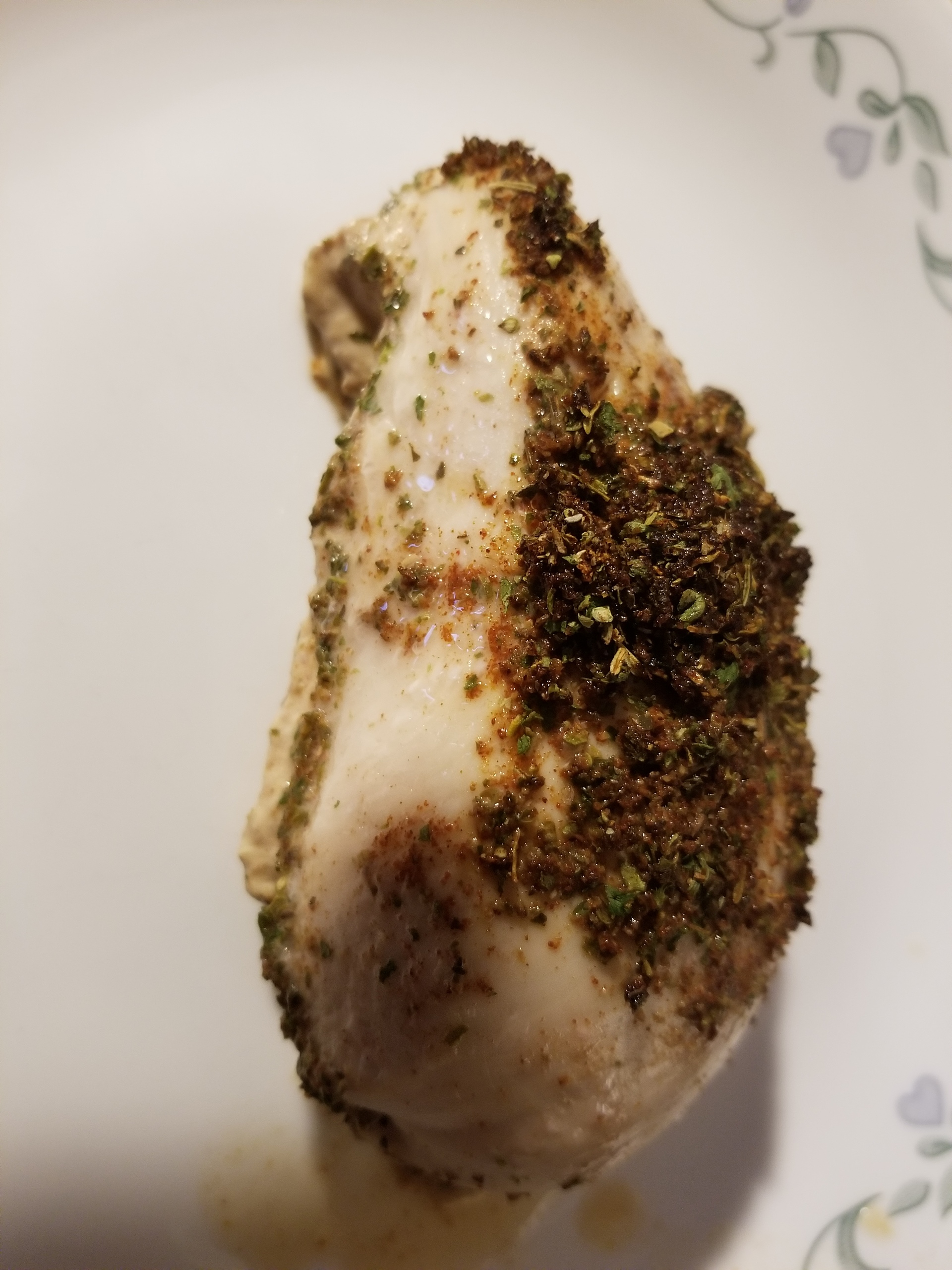 Roasted Red Hot chicken breast