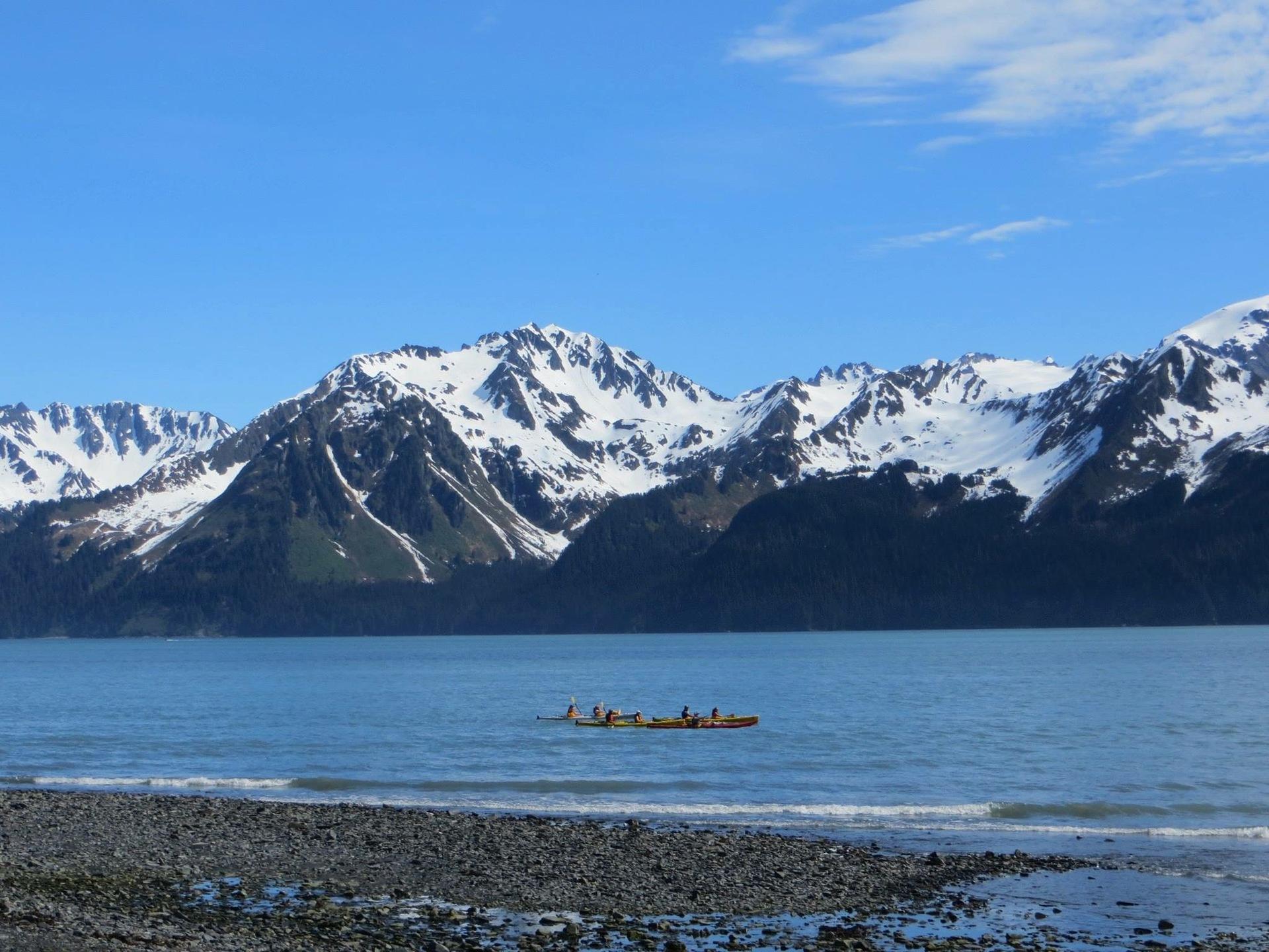 Kayaking  | 1russian6717, adventure, daytime, glacier
