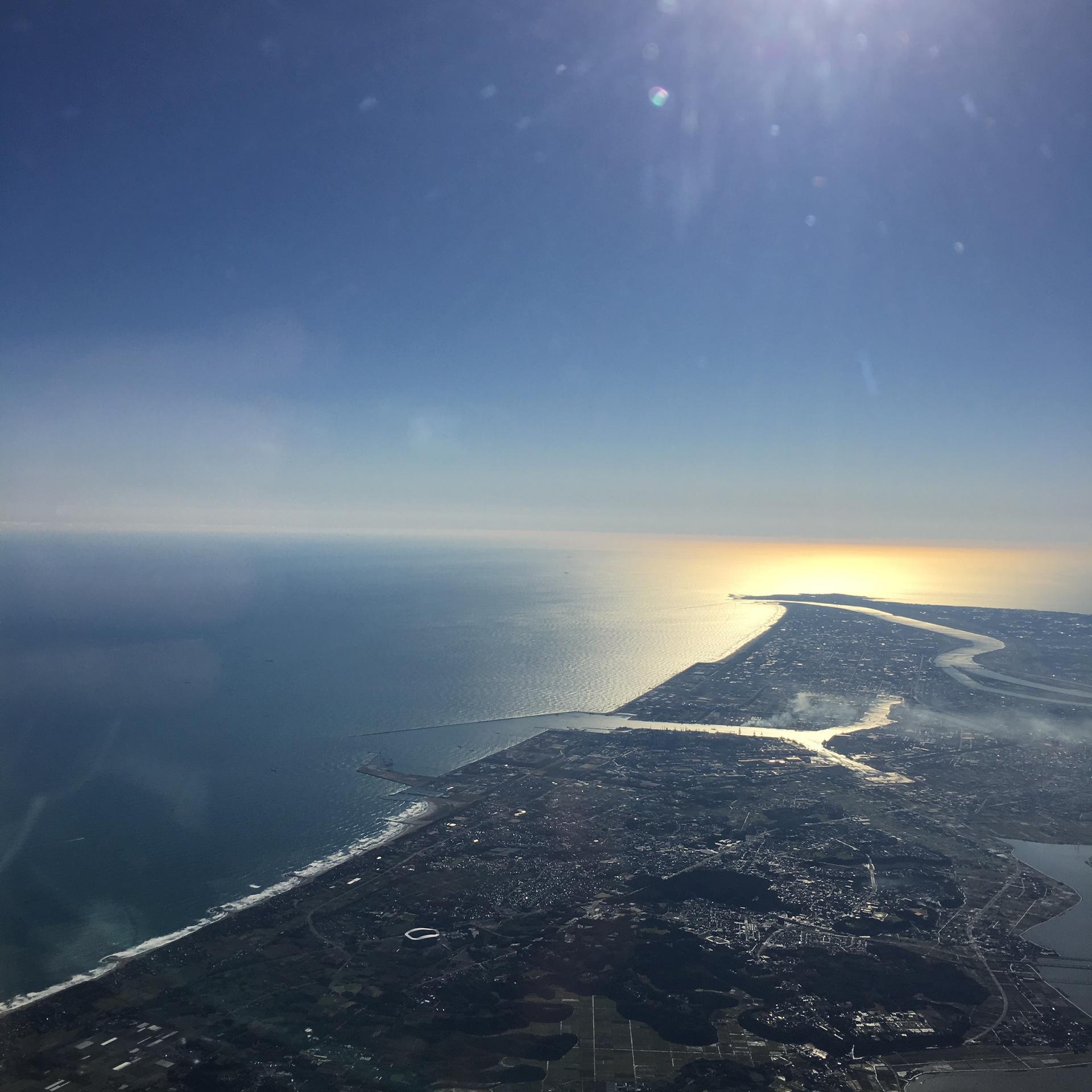 Bird's Eye View Japan Coast Line