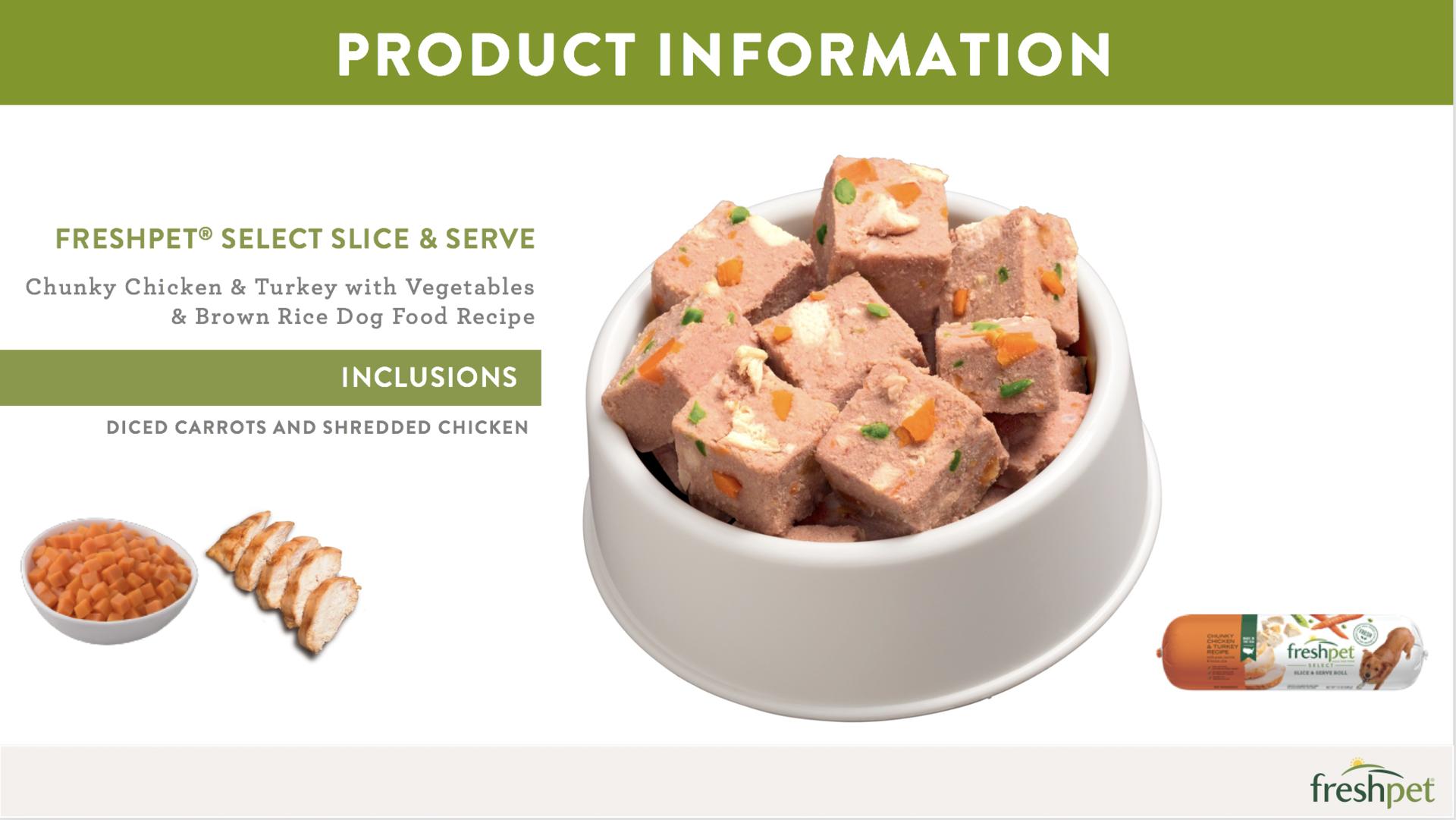 Freshpet - the real fresh pet food! example photo