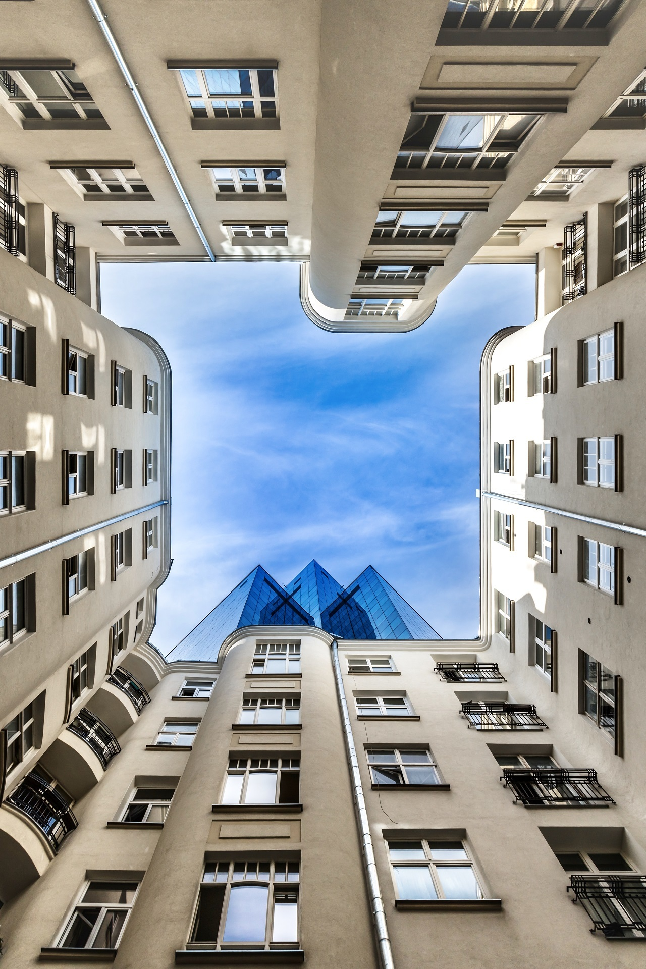 Buildings of the world example photo
