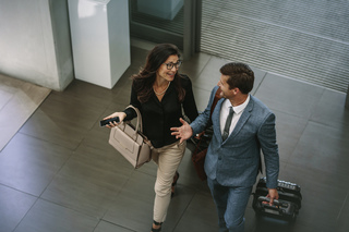 Business Travelers with Choice Hotels example photo