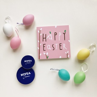 Colorful Easter with NIVEA example photo